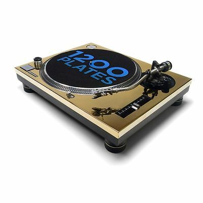 1200 Plates Technics 1200/1210 MK2 Faceplates (gold plated, pair)