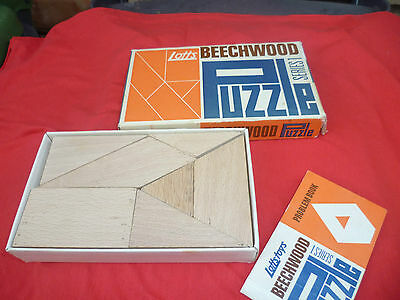 Old vintage and boxed 1959 Beechwood Puzzle Series 1 by Lotts Toys