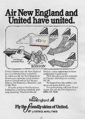 Air New England & United Airlines Have United Hyannis To Boston To Chicago Asd