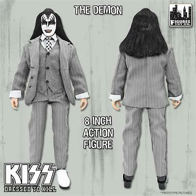 KISS Dressed To Kill 8 Inch Action Figure Gene Simmons Demon