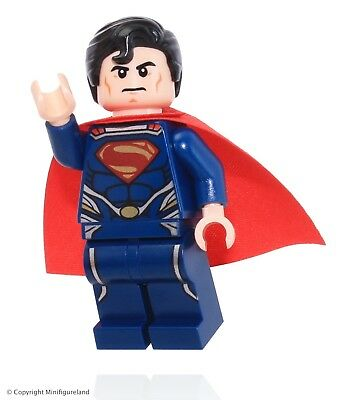 LEGO Super Heroes: Superman MiniFigure - Superman (Dark Blue Suit)