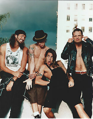 Red Hot Chili Peppers 8 X 10 Photo With Ultra Pro Toploader