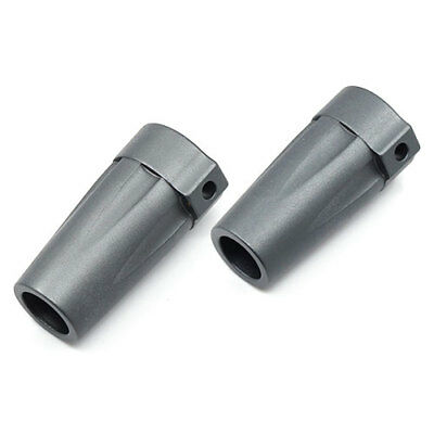 Gunmetal Alloy heavy duty Rear Lockout for Axial Wraith