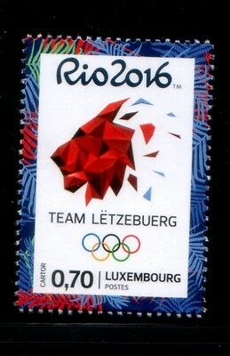 LUXEMBOURG Rio de Janeiro 2016 Olympic Games MNH stamp