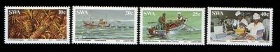 SOUTH WEST AFRICA Lobster Industry MNH set