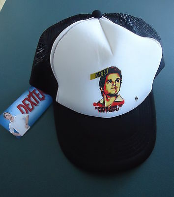 DEXTER Power-Saw To The People Trucker Hat/Cap, Adjustable Adult Size, Brand New