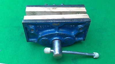 "Vintage Record No 50 woodworking bench vice, 6"" jaws."