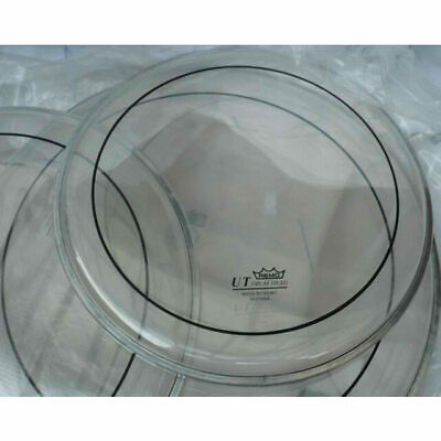 """Remo Clear Pinstripe 10"""", 12"""", 16""""  UT Rock Fusion Drum Head Pack"""