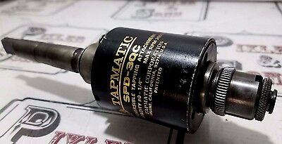 """Tapmatic Spd-3Qc Reversing Tap Tapping Head Attachment 0 - 1/4"""" W/ Collet & 2Mt"""