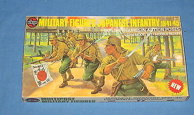 Vintage Airfix Military Figures Japanese Infantry
