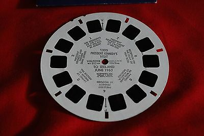 """The View Master Single Reel 1305  """" President Kenndy Visits England June 1963 """""""