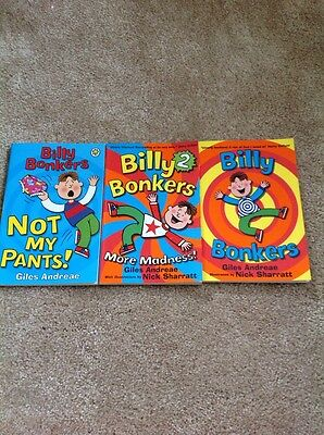 Billy Bonkers Books. Ideal Christmas Present