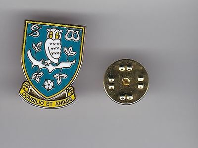 Sheffield Wednesday - lapel badge butterfly fitting
