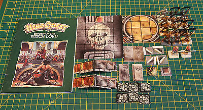 HEROQUEST - Hero Quest - RETURN of the WITCH LORD - Expansion Set - Unboxed