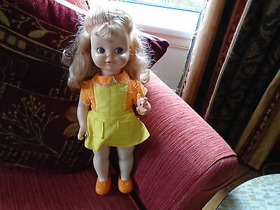 Vintage Hi Dotty doll Mattel 1970s with dress pants and shoes