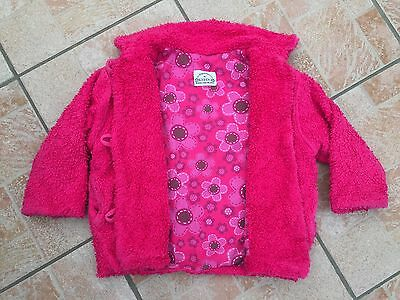 Exclusive Girls KEEDO Pink Winter Coat Size 2-3 Years  Soft Warm Cosy *LOOK*