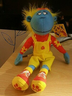 """Bella From The Tweenies Plush Soft Toy 9"""" with tag"""