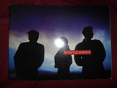 Simple Minds - Street Fighting Years Tour Programme
