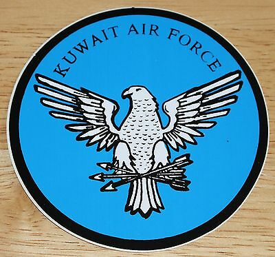 Old Kuwait Air Force Sticker