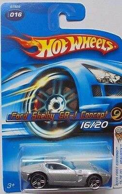 2005 Hot Wheels First Edition Ford Shelby GR-1 Concept 16/20 (Silver Version)