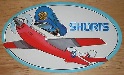 Large RAF Royal Air Force Shorts TUCANO Sticker