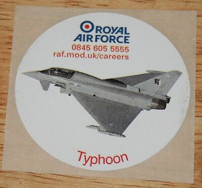 RAF Royal Air Force Typhoon Sticker