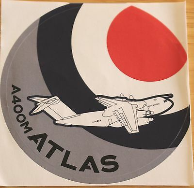 RAF Royal Air Force Airbus A400M ATLAS Sticker