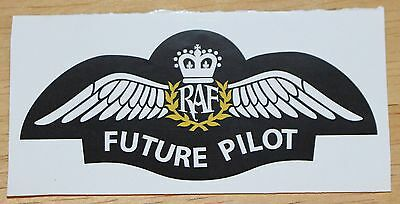 RAF Royal Air Force Future Pliot Wings Sticker Version 1