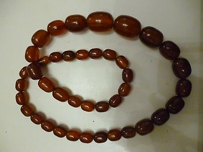 Collier ambre, amber necklace