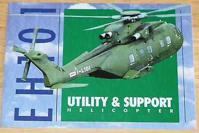 EH101 Utility & Support Helicopter Sticker