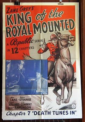 KING OF THE ROYAL MOUNTED Chapter 7 ONE-SHEET Movie Poster