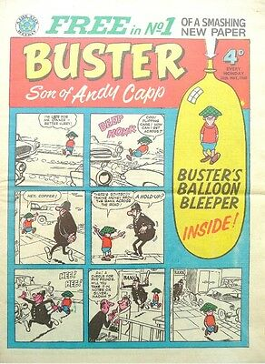 Uk Comics Buster Humour Comics Collection 450+ Issues From 1960-1999 On Dvd