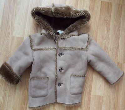 MONSOON SMALL GIRLS (INFANT} WINTER COAT AGE 12 to 18 MONTHS