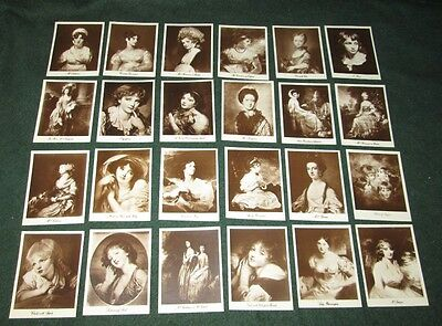 ART TREASURES OF THE WORLD first series FULL SET OF 24 GALLAHER CARDS