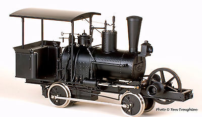 "BEAR HARBOR & EEL RIVER RAILROAD ""BEAR"" 0-4-0 F 1:20.3 Brass Logging Loco FGBR"
