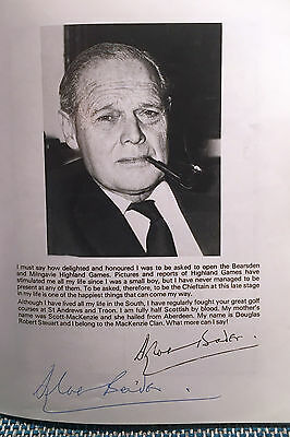 DOUGLAS BADER (1910-82) WWII Royal Air Force Group Captain hand-signed programme
