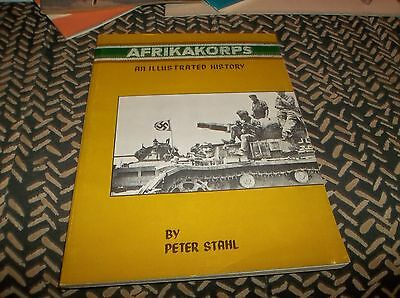 Vtg Afrikakorps an Illustrated History soft cover Pictorial Book by Peter Stahl