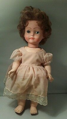 Vintage 1960s Crolly Doll very rare made in republic of Ireland 14 inches approx