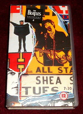 The Beatles Anthology 4..vhs Video Tape Ex..