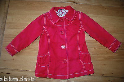 GREAT 2-3 years girls RED SMART JACKET *next day post! party/wedding!