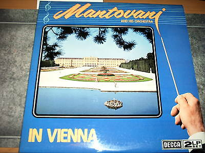 MANTOVANI & HIS ORCHESTRA -IN VIENNA  VINYL LP Record, (VGC)(2 LP SET)