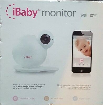 "iBaby Rotating Monitor M6 WiFi Wireless Digital Baby Video Monitor Camera ""New"""