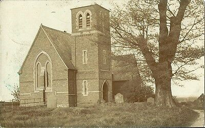 Lincolnshire Church I Think? Posted Ingham 1954 Real Photo Postcard