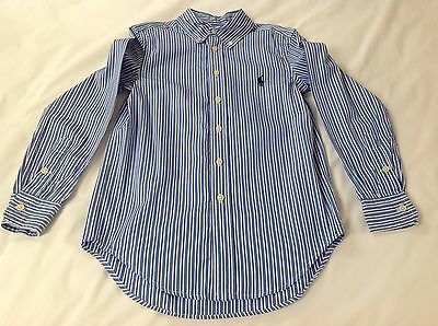 Boys Ralph Lauren Striped Shirt, Size 10, Excellent Condition, worn once