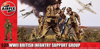 AIRFIX® A04710 WWII British Infantry Support Set Figuren in 1:32