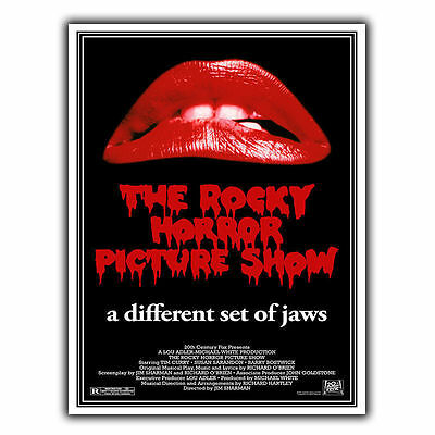 The Rocky Horror Picture Show METAL SIGN WALL PLAQUE Film Movie Advert poster