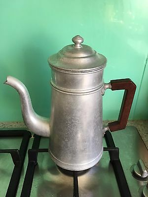 Vintage French coffee pot/percolator/filter with Bakelite handle