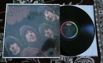Beatles VINTAGE 1965/66 U.S. MONO ' RUBBER SOUL ' ALBUM SW / NM-