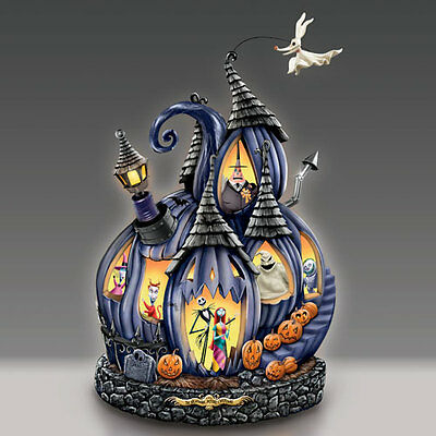 Nightmare Before Christmas Pumpkin Musical Figurine Bradford Exchange