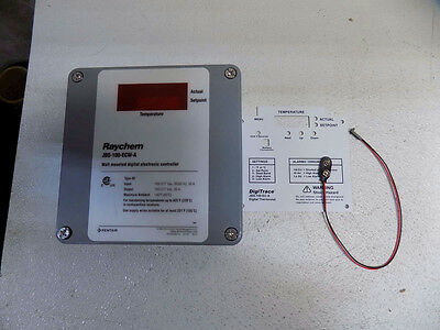 Raychem DigiTrace Wall-Mounted Digital Electronic Heat Cable Controller